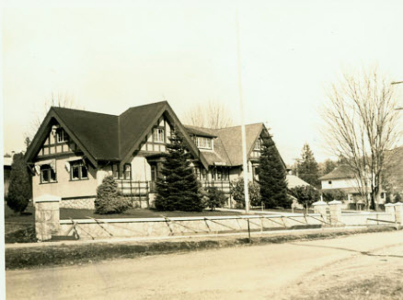 Municipal Hall 1700 Block Esquimalt 1920s