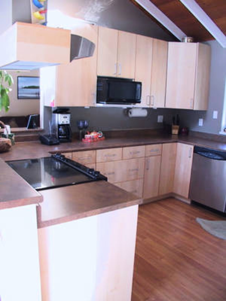 Kitchen New Cabinets, countertops and appliances