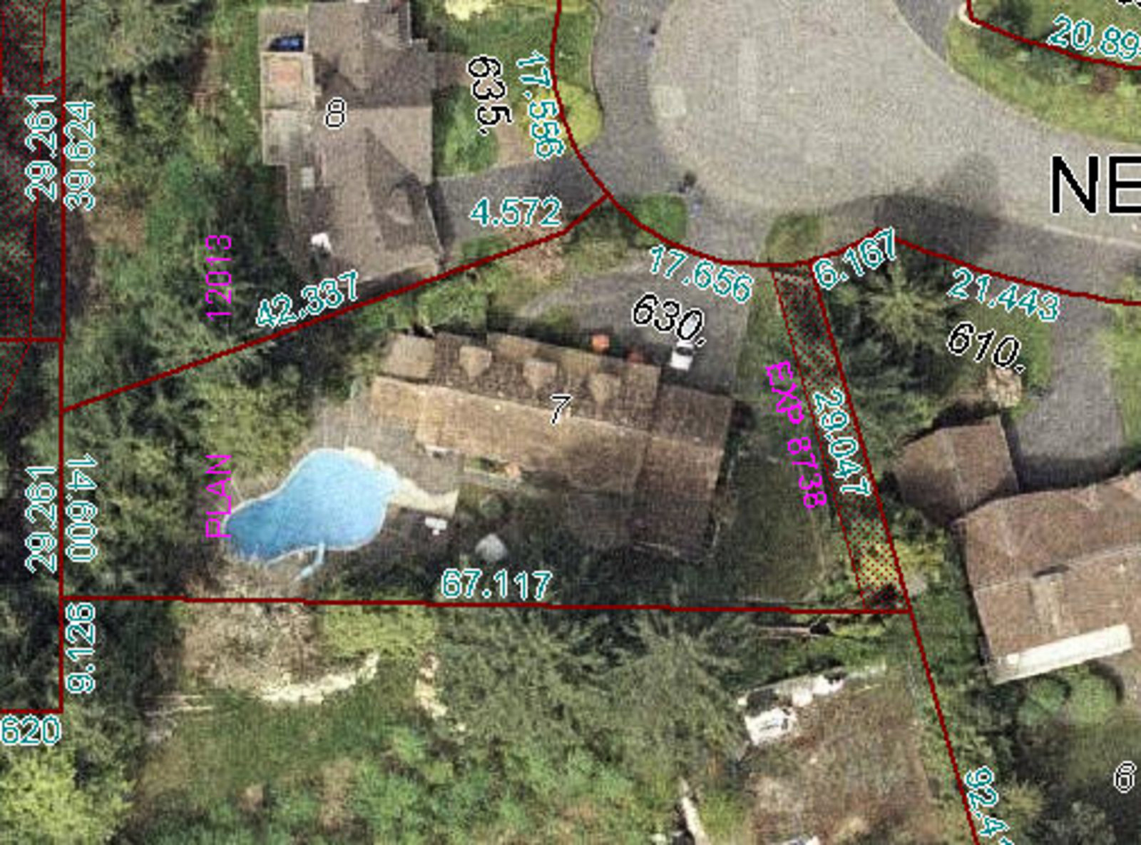 Aerial View Property