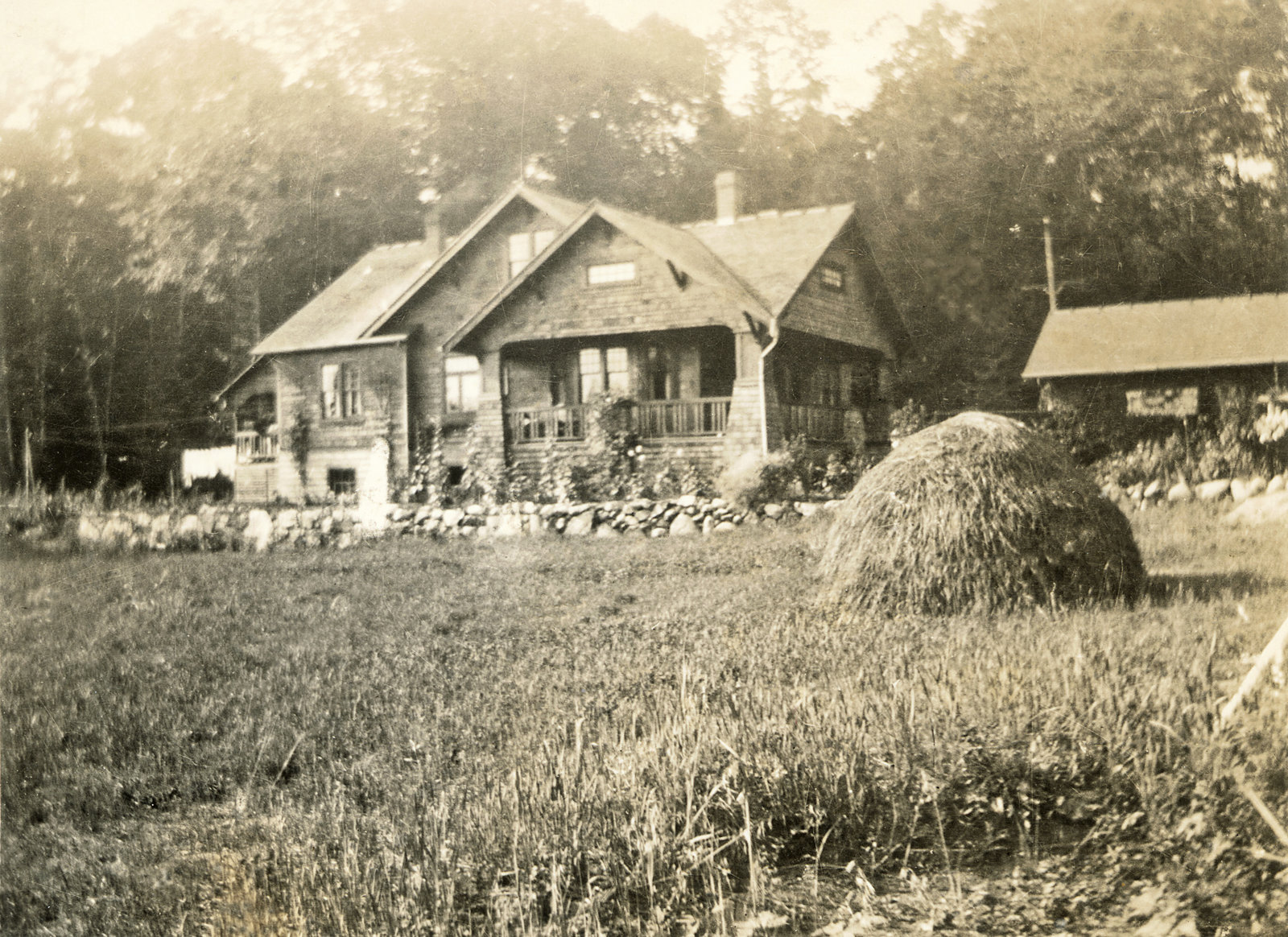 Exterior Back of House 1923