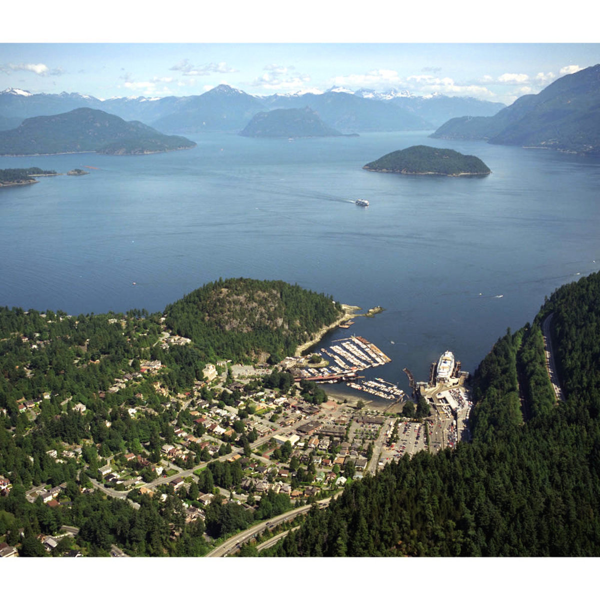 Horseshoe Bay Aerial