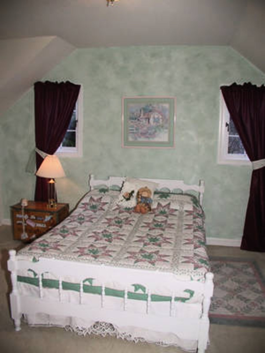 Bedroom 2 This bedroom is also very spacious with separate sitting area.
