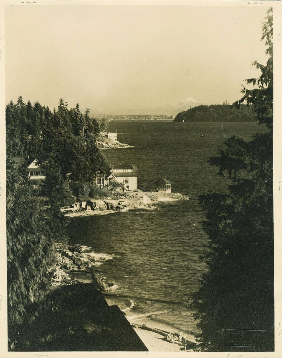 West Bay View on Canadian Stamp 1938